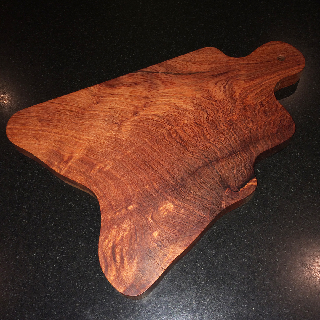 mesquite cheese and bread board