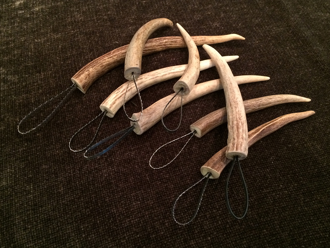jalapeno pepper seed scrapers with antler handles