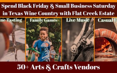 Flat Creek Estate Winery and Vineyard's 2019 'Thanksgiving Shopping Spree'
