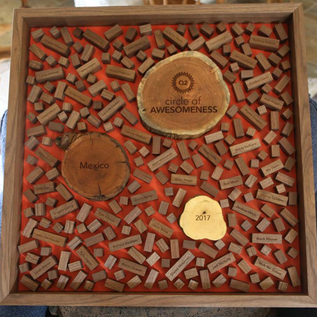 custom wood regional performance award