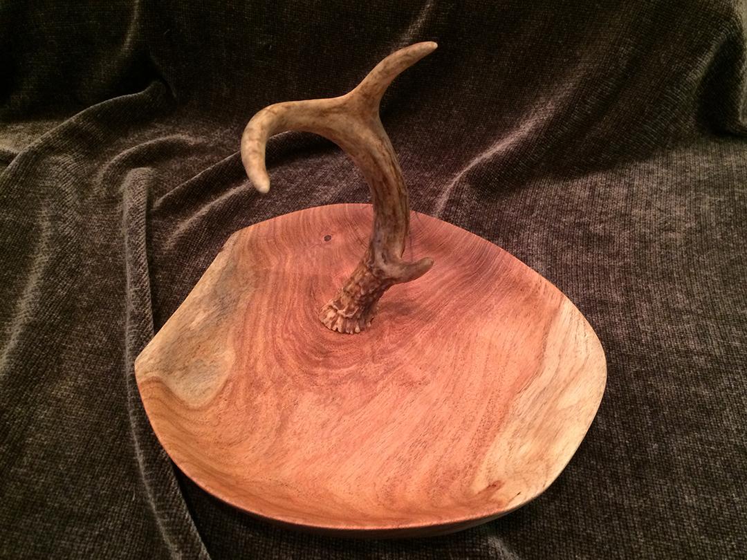 deer antler jewelry tree